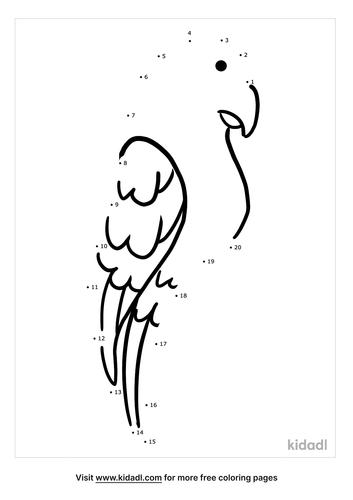easy-parrot-dot-to-dot