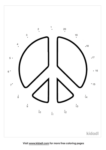 easy-peace-sign-dot-to-dot