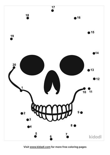 easy-skull-dot-to-dot