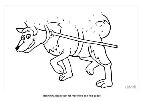 easy-sled-dog-dot-to-dot