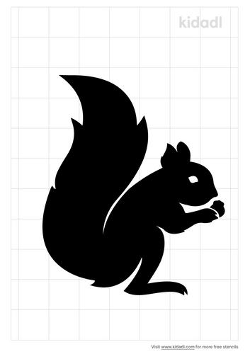 easy-squirrel-stencil