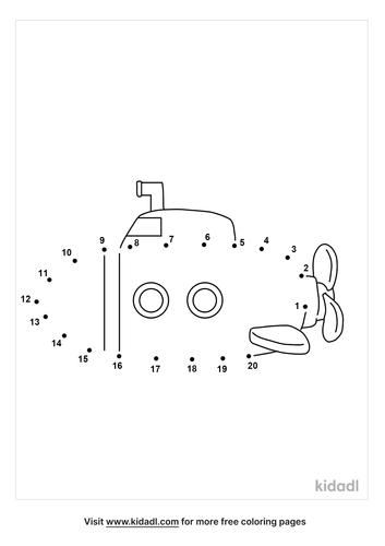 easy-submarine-dot-to-dot