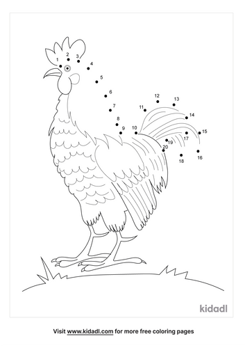 easy-the-french-rooster-dot-to-dot