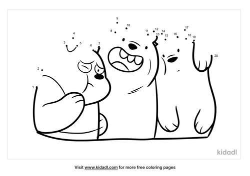easy-three-bears-dot-to-dot