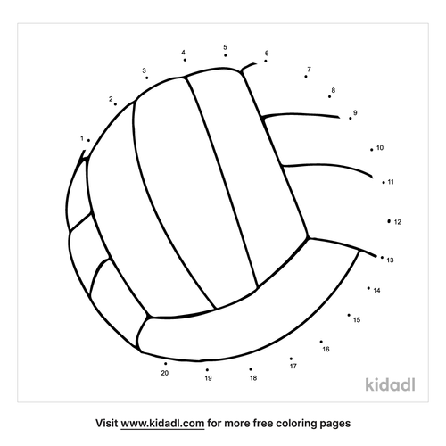 easy-volleyball-dot-to-dot