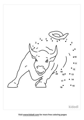 easy-wall-street-bull-dot-to-dot