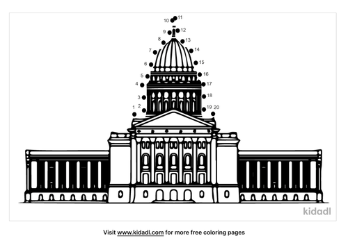 easy-wisconsin-capitol-dot-to-dot
