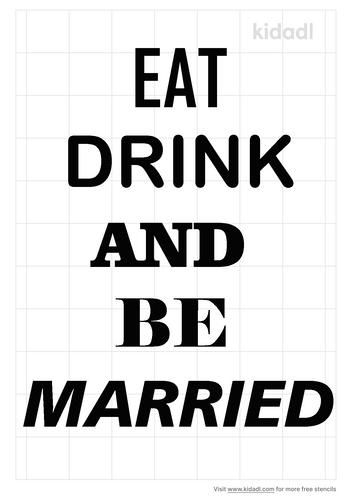 eat-drink-and-be-married-stencil