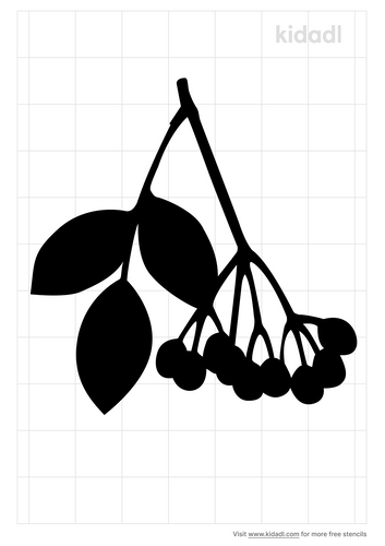 elderberry-stencil