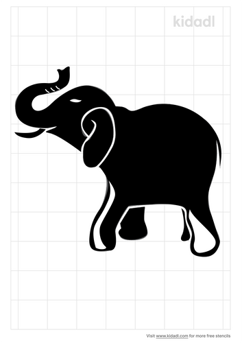 elephant-trunk-up-stencil.png