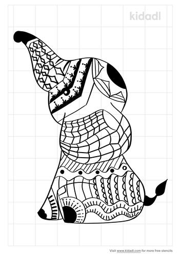 elephant-with-mandala-design-stencil