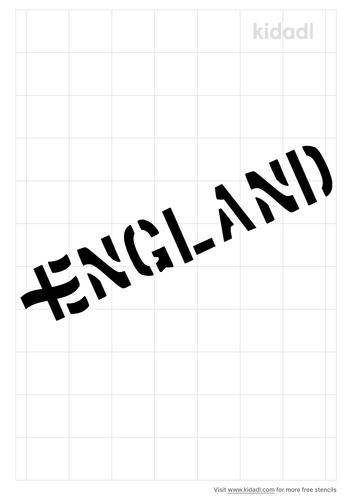 england-stencil