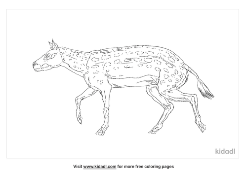 eohippus-coloring-page