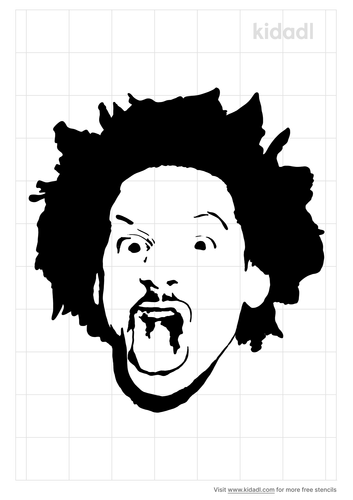 eric-andre-face-stencil