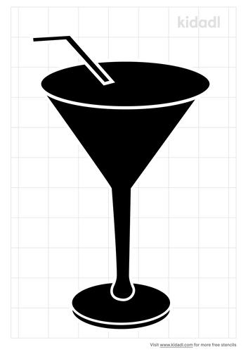 espresso-martini-cocktail-stencil