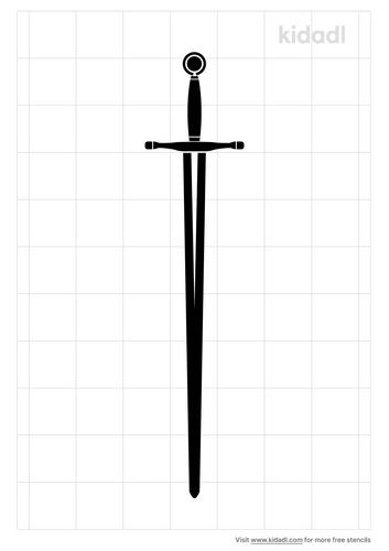 excalibur-sword-stencil