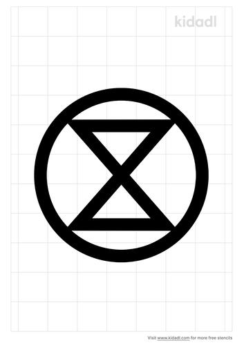 extinction-rebellion-symbol-stencil