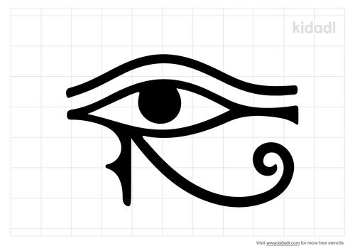 eye-of-horus-stencil