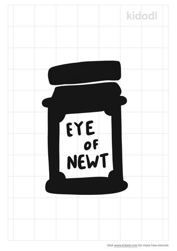 eye-of-newt-stencil
