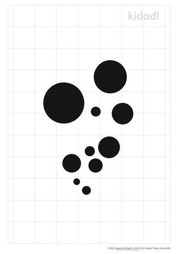 fading-bubbles-stencil