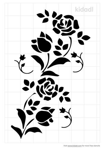 fall-floral-design-stencil