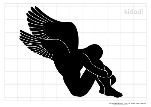 fallen-angel-stencil