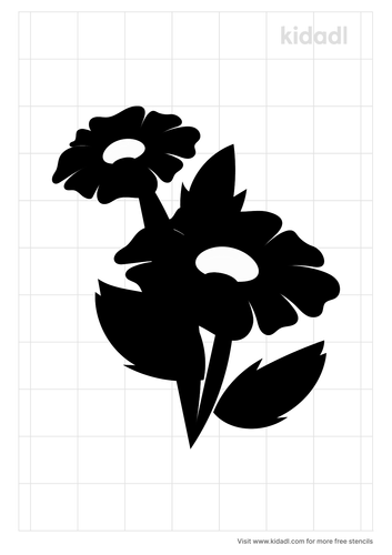 falling-down-flower-stencil