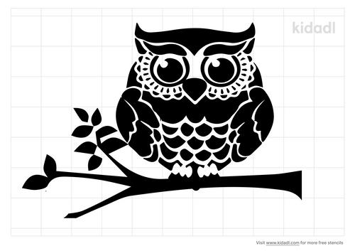 fancy-owl-on-branch-stencil