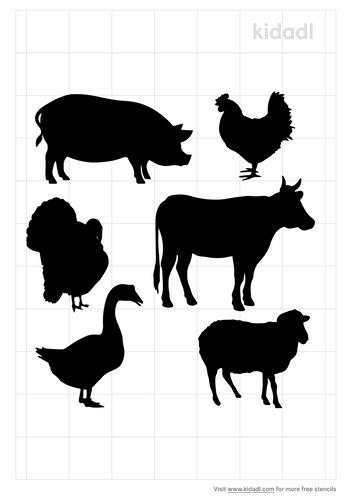 farm-animal-stencil