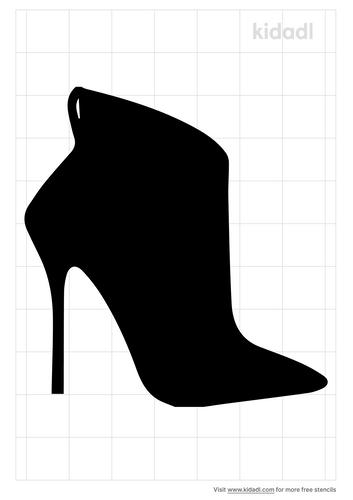 fashion-boot-stencil