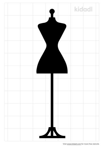fashion-mannequin-stencil