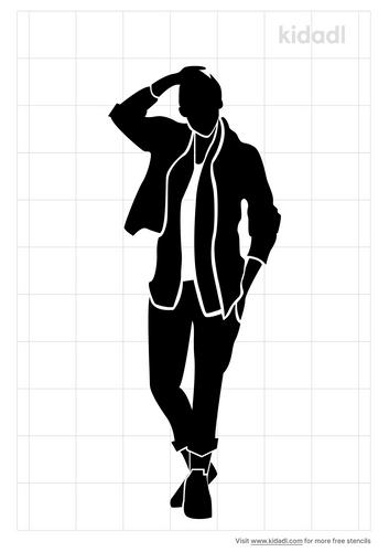 fashion-pose-male-stencil