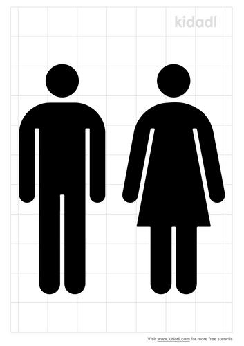 female-vs-male-stencil