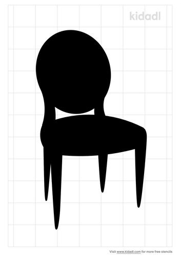 fench-chair-stencil