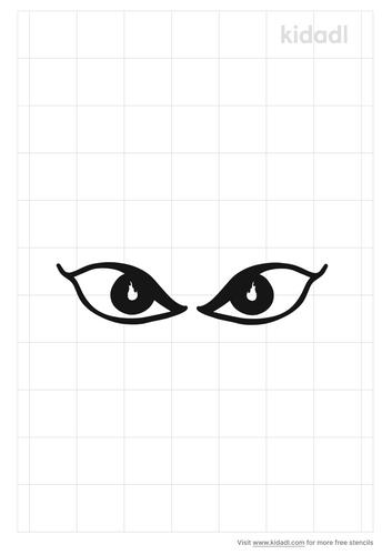 fiery-eyes-stencil