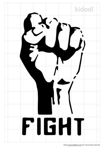 fight-racism-stencil