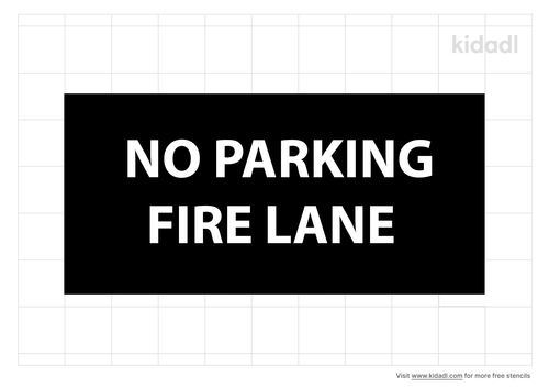 fire-lane-and-no-parking-stencil