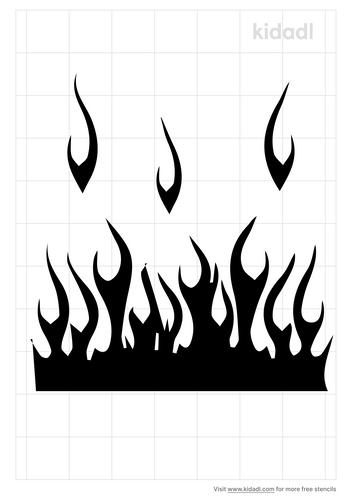 fire-lane-stencil