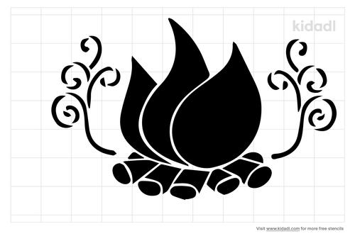 fire-pit-stencil