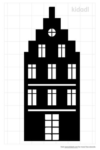 flat-apartment-stencil
