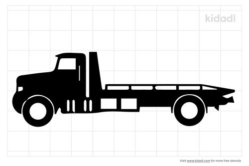 flatbed-trailer-stencil