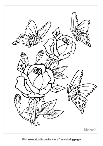 flowers and butterflies coloring pages-lg.png