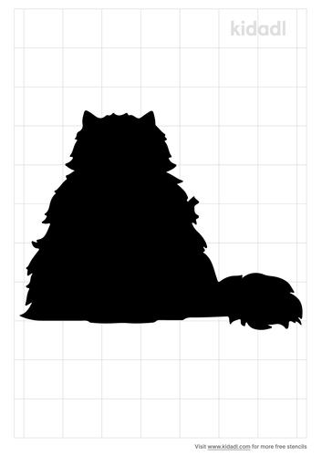 fluffy-cat-stencil