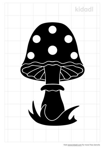 forest-mushroom-stencil