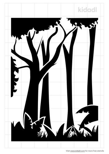 forest-stencil