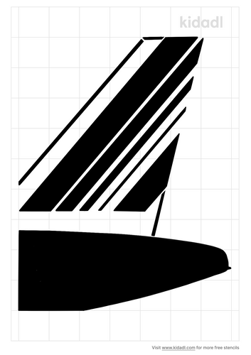 french-aircraft-tail-stencil
