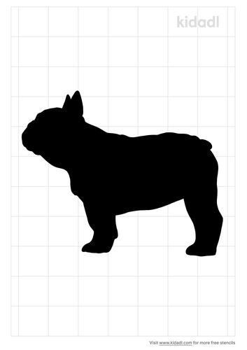 french-bulldog-stencil