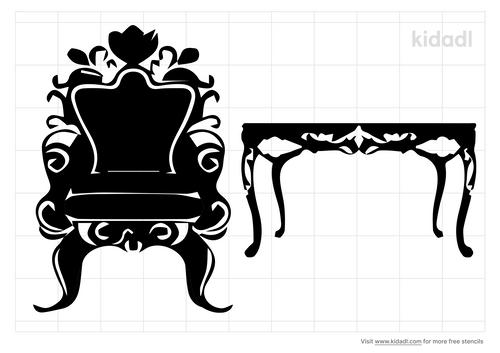 french-furniture-stencil