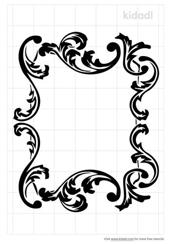 french-rococo-stencil
