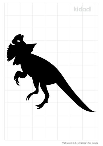 frilled-necked-dinosaur-stencil.png